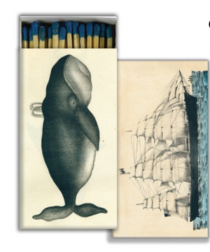 Whale and Clipper Ship Matches