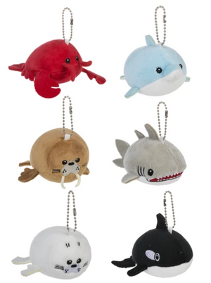 Squishy Squad Sea Keychain