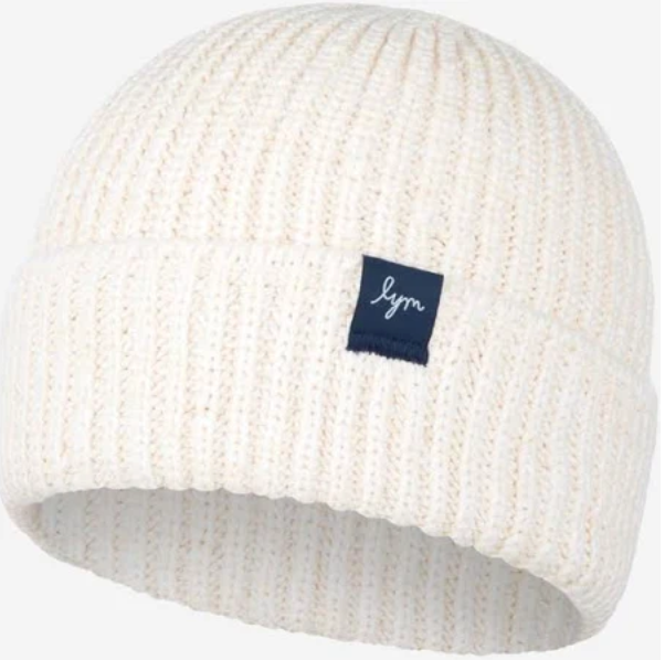 White Speckled Lightweight Beanie - Love Your Melon