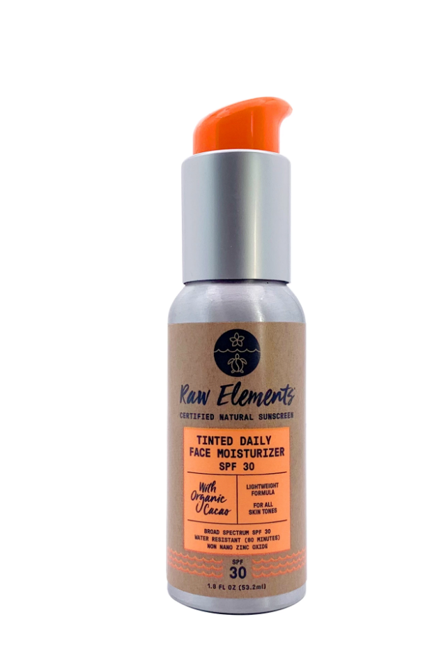 Raw Elements Tinted Daily Face Moisturizer