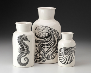Set of 3 Jars - Octopus - Laura Zindel