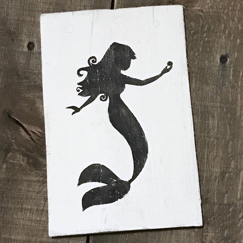 Anchored Soul Designs - Mermaid Sign 1, mermaid decor, beach decor,  beach sign