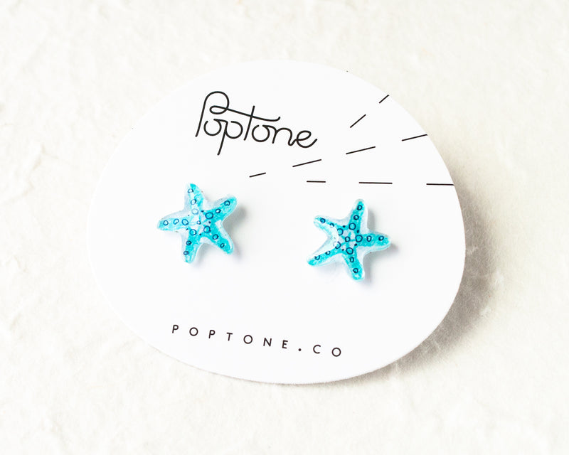 Poptone Co. - Starfish Earrings