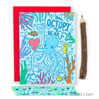 Turtle's Soup - You Octopi My Heart Anniversary Card