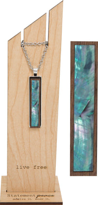 Statement Peace - Abalone Narrow