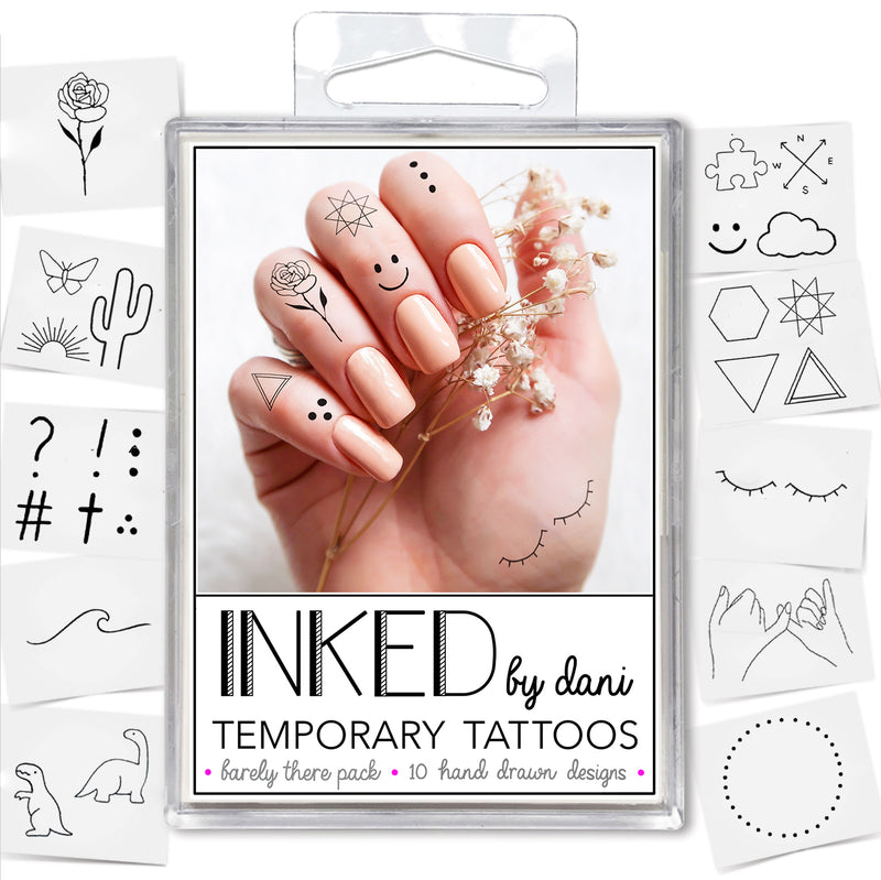 INKED by Dani - Barely There Pack