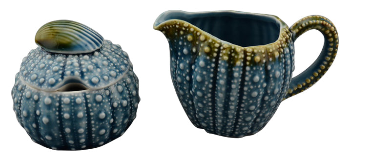 Blue Sky Clayworks - Blue Urchin Sugar Bowl