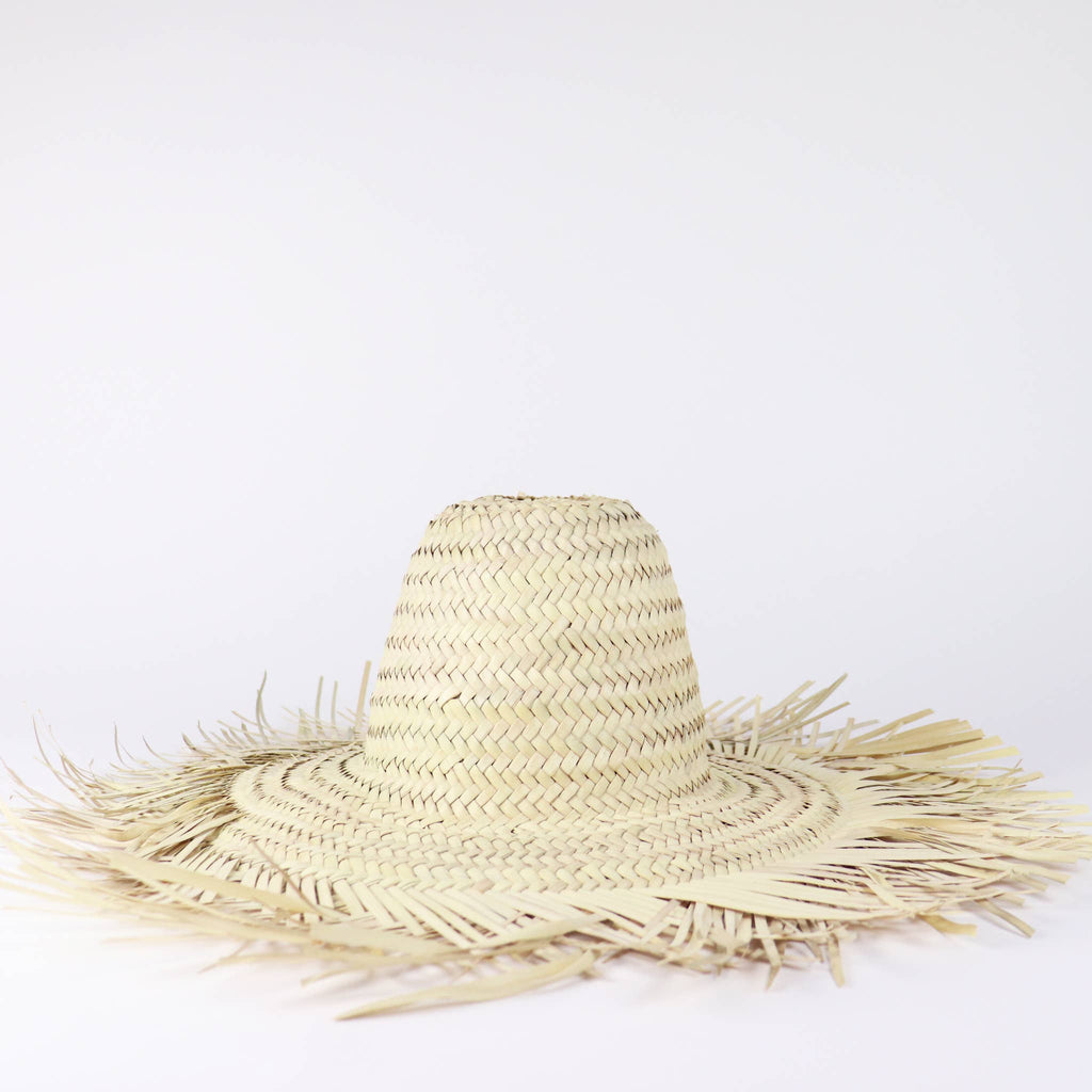 SOCCO WHOLESALE - Decorative Straw Hat - John