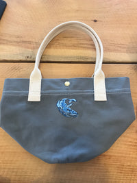 Clam Digger Tote with Logo - Port Canvas
