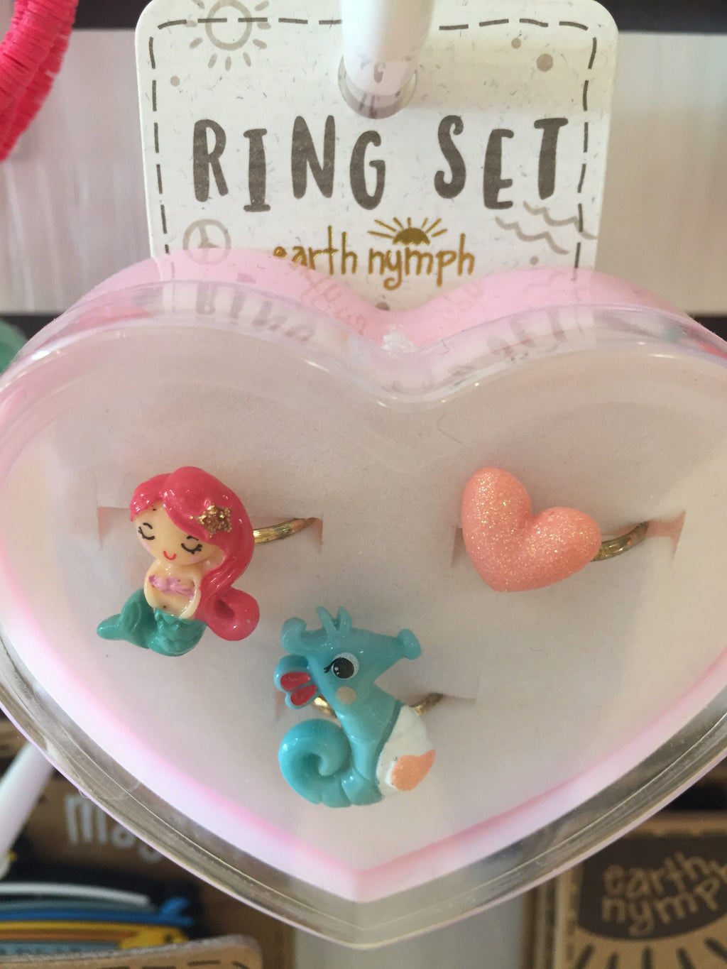 Girls ring set - Coastal