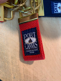 Port Canvas Keychain