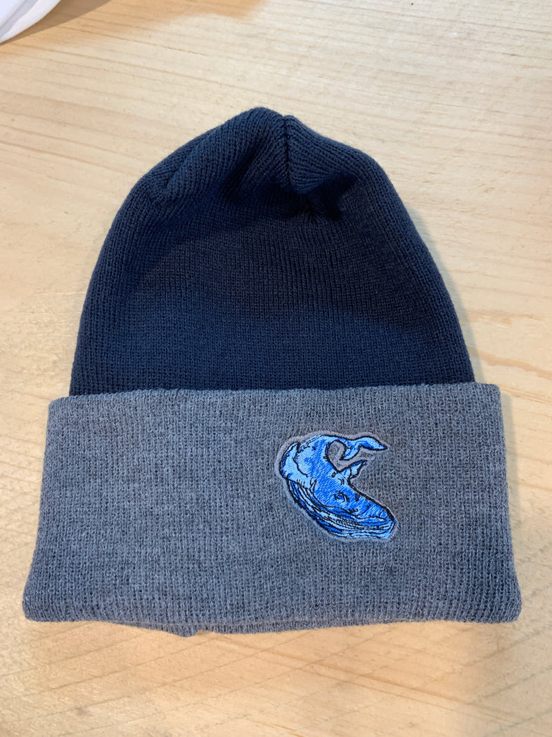 Logo knit hat unlined