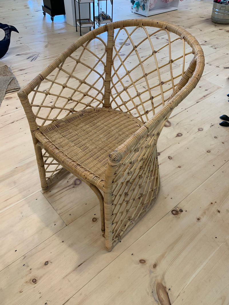 Hand Woven Rattan Arm Chair [In-Store Only]