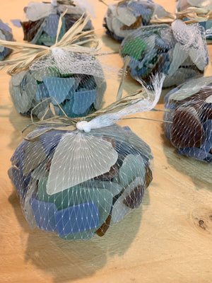 Seaglass in Mesh Bag