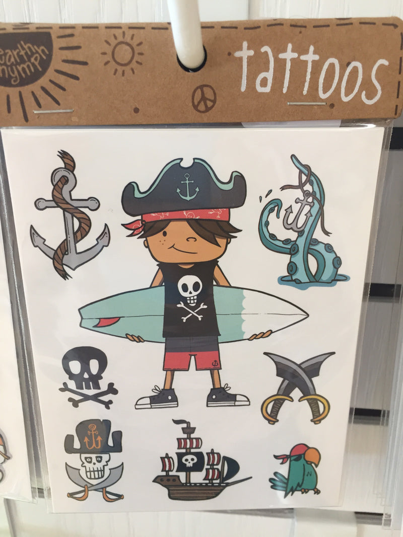 Boys Tattoo Pack - Coastal