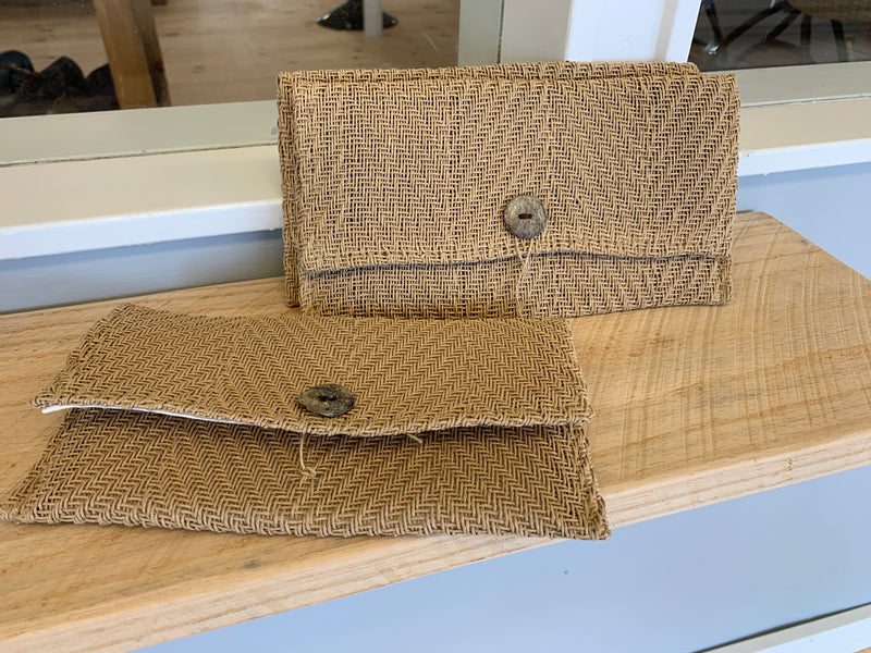 Compass Clutch by Port Canvas