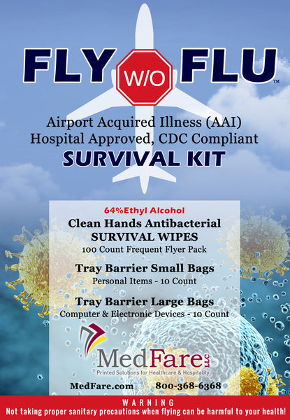 Fly w/o Flu - CDC Compliant Survival Kit