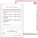 "Market Medley Tray Slips 5.5"" x 8.5"" - Pack of 500"