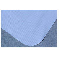 "Plain White Linen Embossed 13-5/8"" X 18-5/8"" Traycovers- Case of 1000"