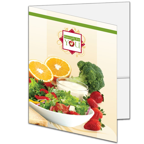 Especially For You Large Welcome Pocket Folders - Case of 100