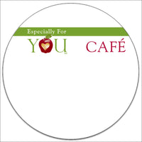 Especially for You Cafe Labels - Pack of 3000 Labels
