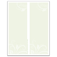 Especially for You 2-Up Tray Slips - Case of 3000