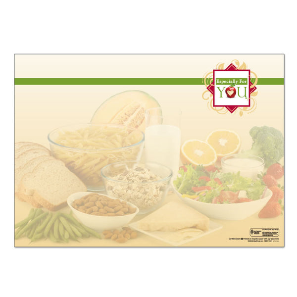 "Especially For You 10"" x 14"" Placemats - Case of 1000"