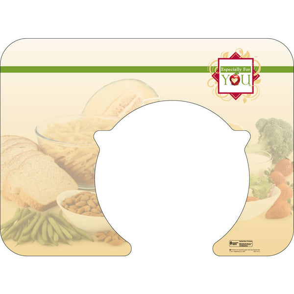 "Especially For You 14"" x 19"" Traycovers with Cut-Out for Plate - Case of 1000"