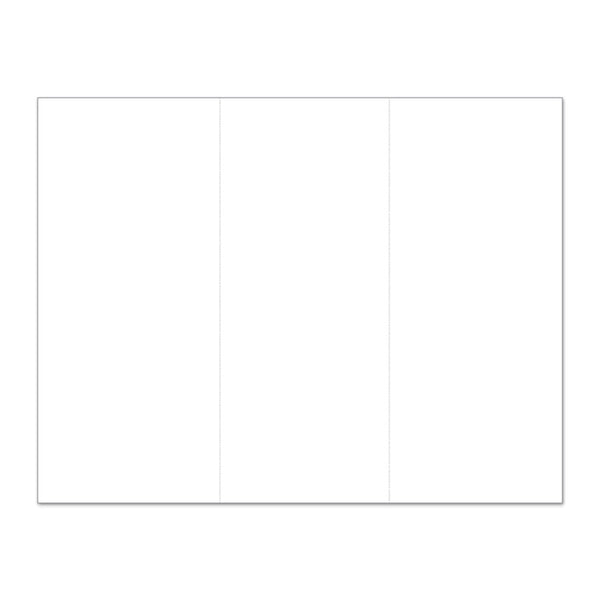 "8.5"" x 11"" Blank Perforated Paper - Pack of 500"
