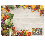 "Eat Healthy 12-3/4"" X 16-3/4"" Traycovers - Case of 2000"