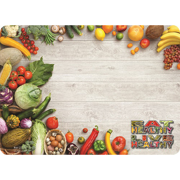 "Eat Healthy 14"" X 19"" Traycovers - Case of 2000"