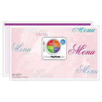Purple Fantasia Menus - Pack of 500