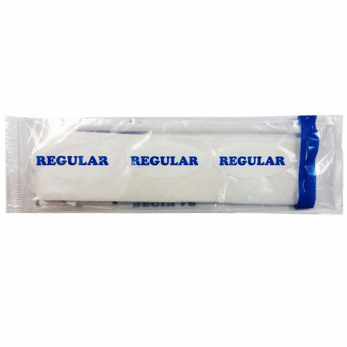 Regular Blue Dietary Kit With Cutlery Pouch - Case of 250