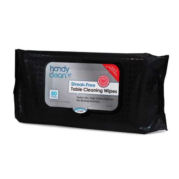 Handy Clean Streak-Free Table Cleaning Wipes Pouches - Case of 960 Wipes