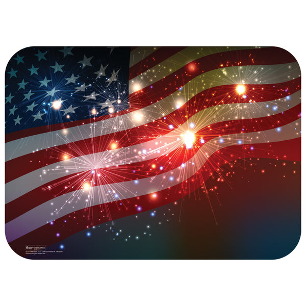 "Patriotic Holiday 14"" x 19"" Traycovers - Pack of 100"