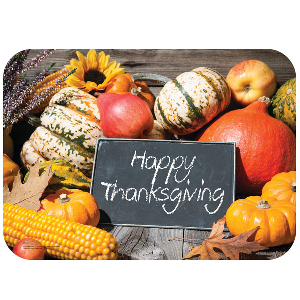 "Thanksgiving 14"" x 19"" Traycovers - Pack of 100"