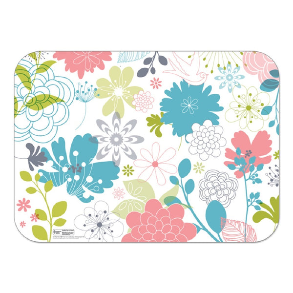 "Floral 14"" x 19"" Interactive Traycovers - Case of 1000"