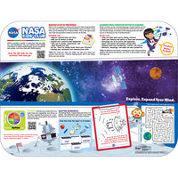 "Pediatric Space/Learning 12-3/4"" X 16-3/4"" Interactive Traycovers - Case of 1000"