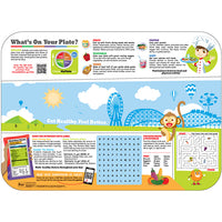 "Pediatric Carnival/Nutrition 14"" X 19""  Interactive Traycovers - Case of 1000"