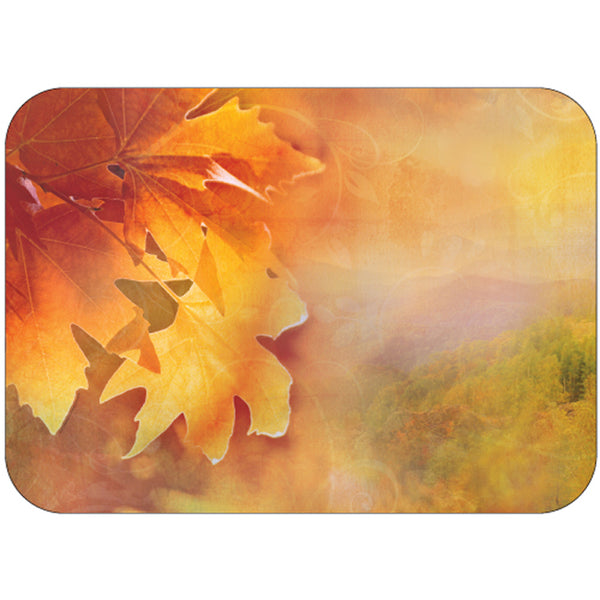 "Seasonal Fall 14"" x 19"" Traycovers - Pack of 500"