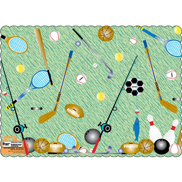 "Father's Day 10"" x 14"" Placemats - Pack of 100"