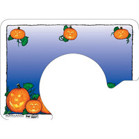 "Halloween 12-1/4"" X 16-3/4"" with Cut-Out for Plate Traycovers - Pack of 100"