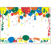 "New Year 10"" x 14"" Placemats - Pack of 100"