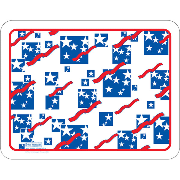 "Patriotic Holiday 12-1/2"" X 16-3/4"" Traycovers - Pack of 100"