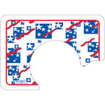"Patriotic Holiday 12-1/4""X16-3/4"" with Plate Cut-Out Traycovers - Pack of 100"