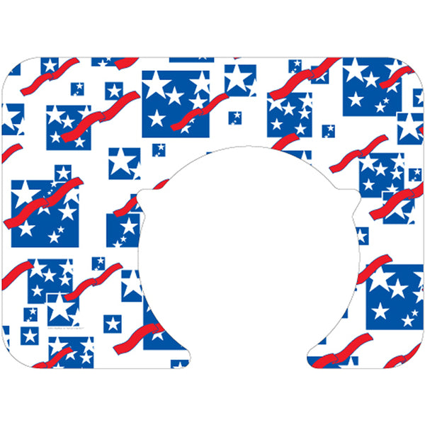 "Patriotic Holiday 14""X19"" with Plate Cut-Out Traycovers - Pack of 100"
