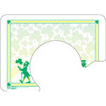 "St. Patrick's Day 12-1/4""X16-3/4"" with Plate Cut-Out Traycovers - Pack of 100"