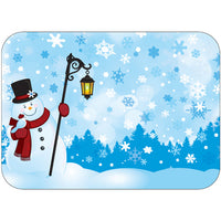 "Seasonal Winter 14"" x 19"" Traycovers - Pack of 500"