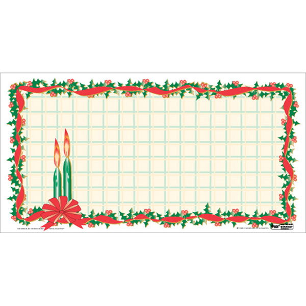 "Christmas 11"" x 21"" Traycovers - Pack of 100"