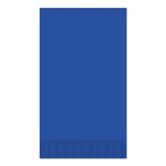 "Dark Blue 15"" x 17"" Dinner Napkins - Pack of 100"